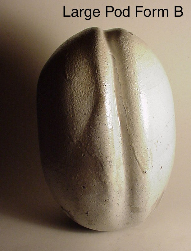 Large Pod Form - Ceramic Sculpture by Skip Bleecker