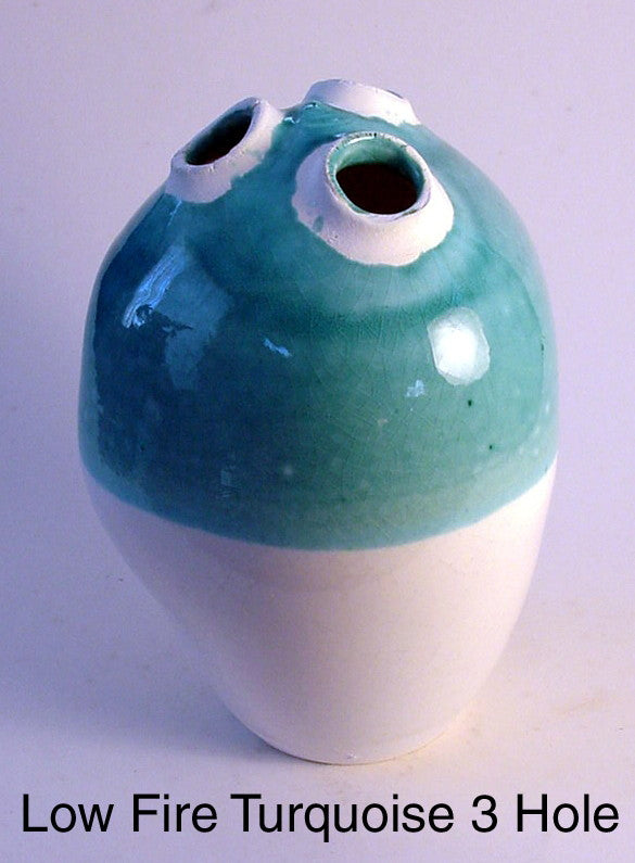 Low Fire Turquoise 3 Hole - Skip Bleecker