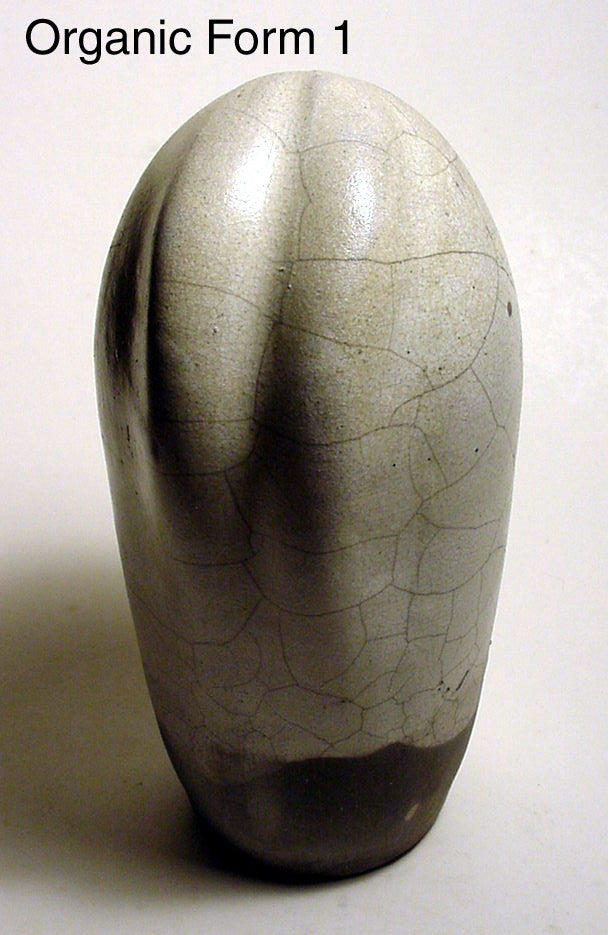 Organic Form 1 - Ceramic Sculpture by Skip Bleecker