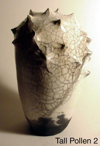 Tall Pollen 2 - Ceramic Sculpture by Skip Bleecker