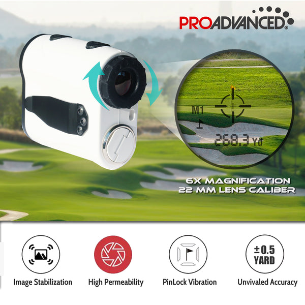 ProMini Range 750+ Slope Edition - Laser Rangefinder -  Continuous Measurement