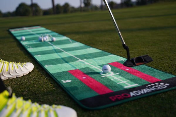 ProInfinity Putting Mat - 4 Speed Golf Green Simulator