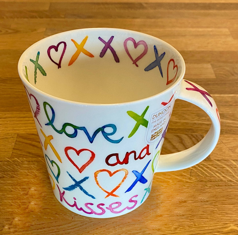 Dunoon® Love & Kisses Cairngorm Shape Mug