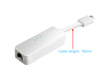 2.5G USB C to Gigabit Ethernet Network Adapter RJ45 Card RIITOP USB Type C to Gbe 10/100/1000/2500 Mbps
