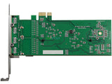 PCI-e to Quad Ethernet Card PCI Express to 4 Ports 1000M Gigabit LAN Adapter Controller [PCIE1000M-4P]