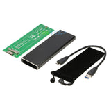 USB 3.0 SSD Enclosure For 2012 Apple Macbook Air A1465 A1466 SSD To External USB Converter Adapter [AP12TU3-EC]