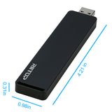 RIITOP M.2 NVMe SSD to USB 3.1 3.0 Type A Enclosure for M.2 PCI-e SSD Hard Drive Card
