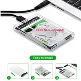 External USB 3.0 To 2.5 inch SATA HDD SSD Enclosure Case Adapter Tool Free [25STU3-ENC]