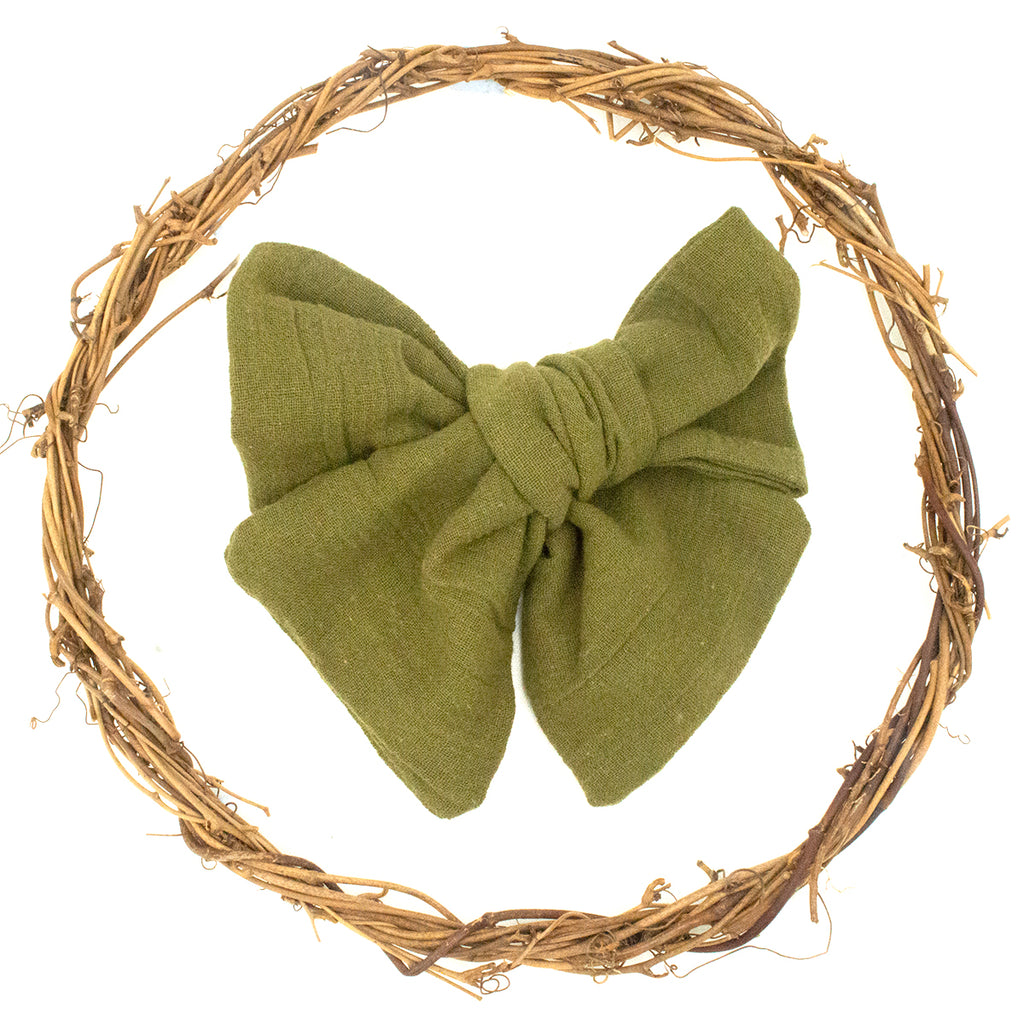 Queenie Bow - Olive