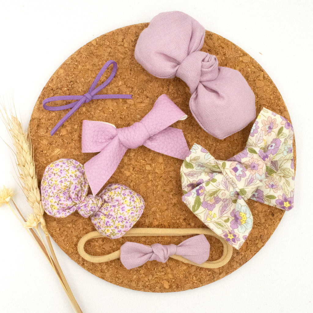 Lavender Fields Newborn Gift Set