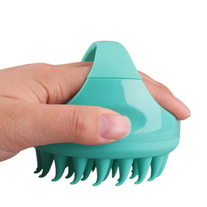 Shampoo Scalp Massager Brush - Dewwel