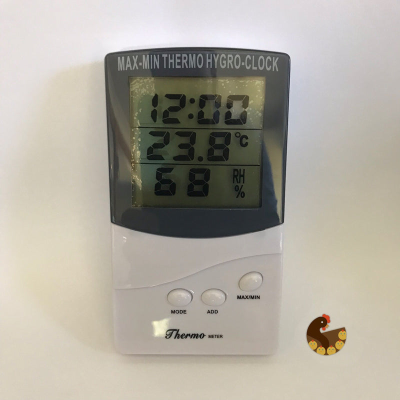 Thermometer with Hygrometer