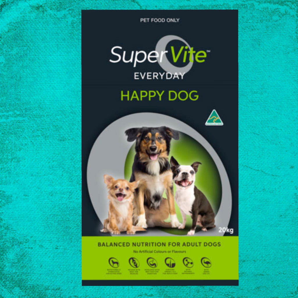 Supervite Everyday Happy Dog Food 20KG