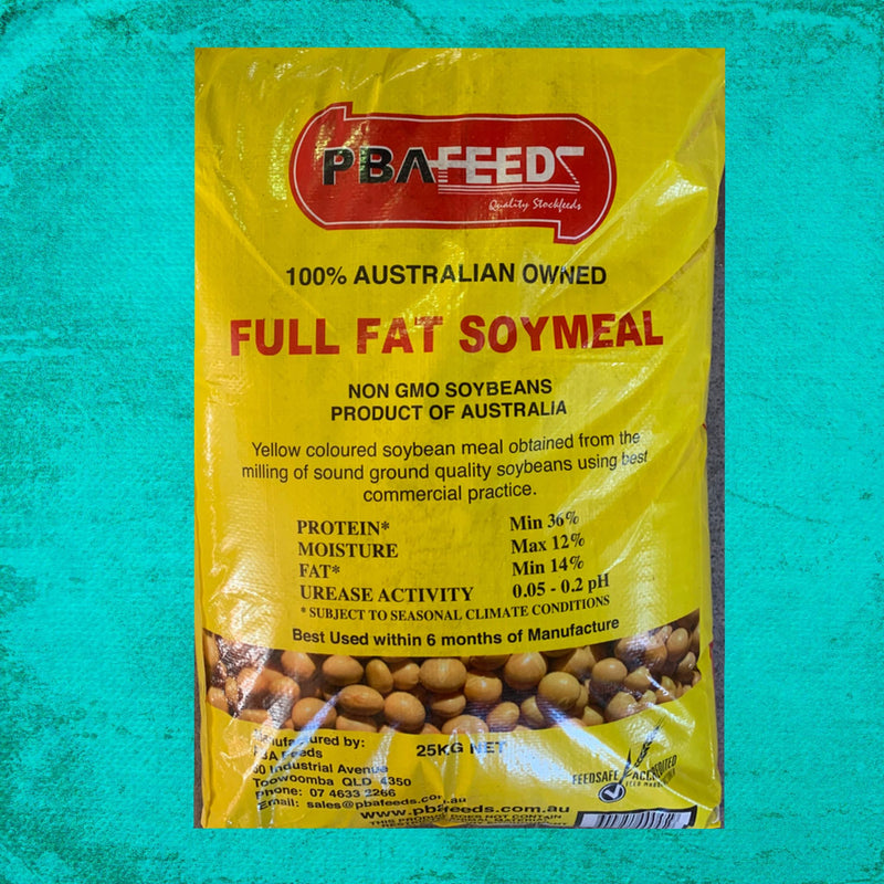Full Fat Soymeal 25KG