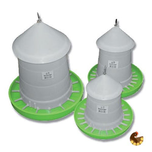 Poultry Feeder With Lid - Suspension