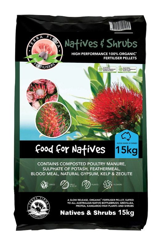 Terra Firma Fertilisers ~ Natives & Shrubs