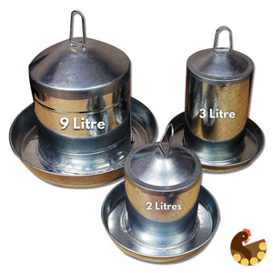 Poultry Drinker - Stainless Steel