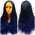MICRO braid wig, beautiful  and neat twist lace braided wig