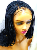 Cornrow Braided Wig Lemonade braided wig
