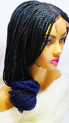 Kenya: Wig with braids