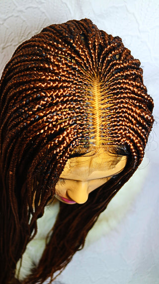 Venus: Cornrow braided wig