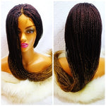picture of braided wig
