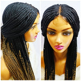 picture of braided wigs
