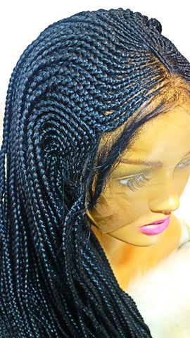 NYLA: Cornrow braided wig with 100% premium braiding fiber on sale