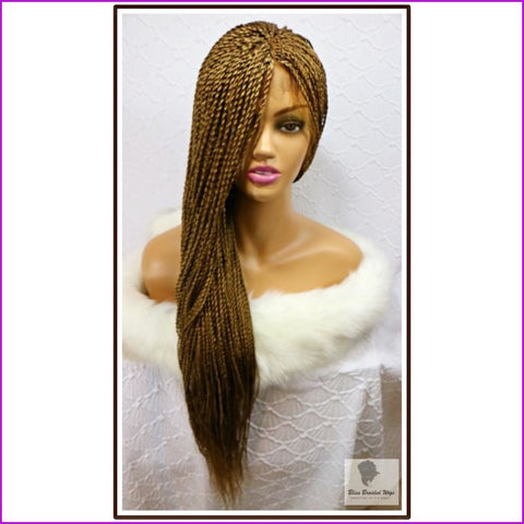 Diana: Lace Frontal Crochet Braid Wig Color 27