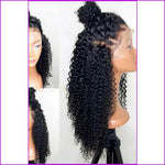Ginger: 13X6 Curly Lace Front Human Hair Wig
