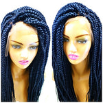 MIA: Large Box braid wig on sale, color Jet black
