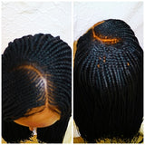 Cornrow Braided Wig Lemonade braided wig pics