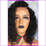 Nina: Short Curly Lace Front Human Hair Wig