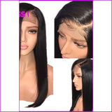 Sasha: Straight Lace Front Brazilian Wig With Pre Plucked Baby Hair