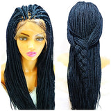 Box braid wig on sale, color Jet black