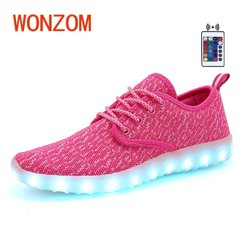 New Superstar LED Flashing Colorful Shoes. Casual Fashion. 7 Colors. USB Chargeable.