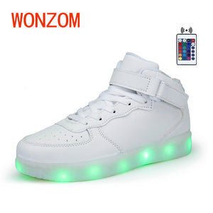 New Superstar LED Flashing Shoes. 7 Colors. USB Chargeable.