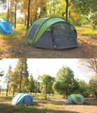 Automatic Pop-Up Tent (4 Persons). Outdoor Camping, Hiking for Large Family.