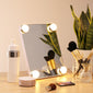 Makeup Front Mirror with 4 LED Lights