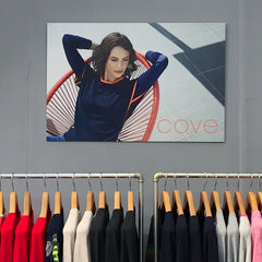 Cove Artwork Eva Logo Display