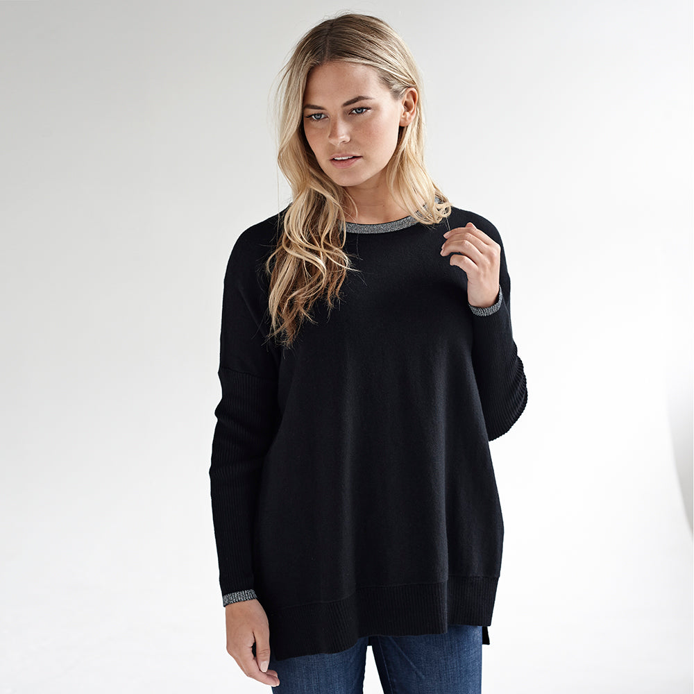nicole black sparkle jumper