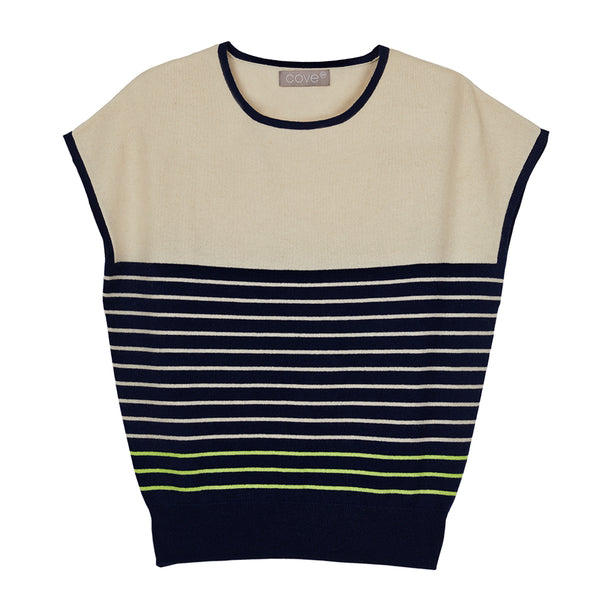 eloise breton striped short sleeved jumper