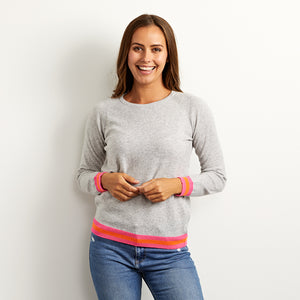 philly grey cashmere jumper