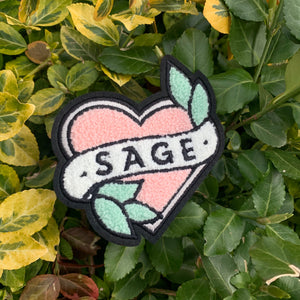 Chenille SAGE patch