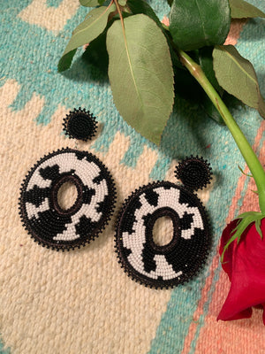 MOD COW earrings