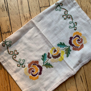 Cross Stitch Tea Towel Set