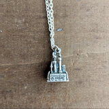 Vintage Disneyland Castle Necklace