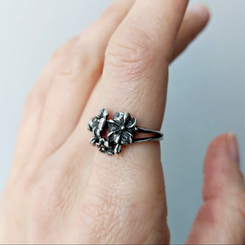 Antique Bloom Ring