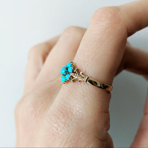 Early 1900's Turquoise Ring