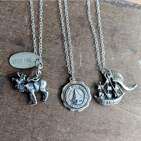 Vintage Souvenir Necklaces